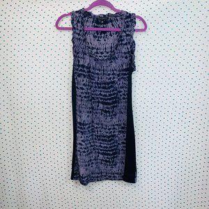 Banana Republic Tie-Dye Purple Sleeveless Dress